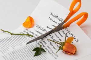 torn marriage certificate